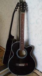 Продам джамбо гитару Varna J-001C,  новая