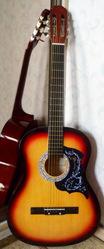 Продам акустическую гитару AS-39, новая, можно с чехлом