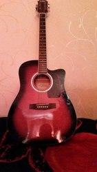 Электроакустическая Гитара aria awn-15ce